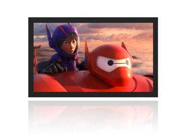 "Экран для проектора на плоской раме Cinemax Line 92"" (198x124 см) - 16:10 - Gain 1.0 - MW"