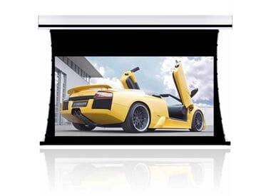 """Моторизованный экран для проектора Cinemax Prestige 100"""" (203x152 см) - 4:3 - Gain 1.0 - MW"""