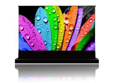 """Напольный экран для проектора Vividstorm S PRO 84"""" (186x105 см) - 16:9 - Gain 0.6 - ALR UST"""